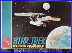 AMT Star Trek 1/650 scale 1966 USS Enterprise open