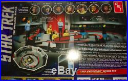 AMT Star Trek Enterprise Bridge Set 132 Scale Model Kit 808 2013 6 figures 9