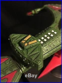 AMT Star Trek TNG Klingon Vor'cha Class Battle Cruiser Model BUILT & PAINTED