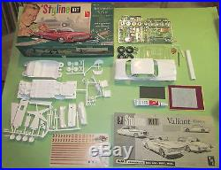 AMT Styline Plymouth Valiant 3-in-1 Original Kit # S8062 Unbuilt in Box 61 62