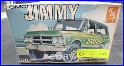 AMT T213 CT63 GMC JIMMY TRUCK VINTAGE 1/25 Model Car Mountain nib