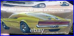 AMT T267 #2 FORD MUSTANG IRON HORSE CUSTOM VINTAGE 1/25 McM