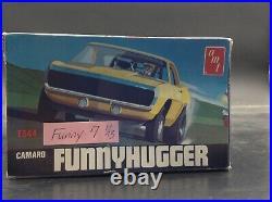 AMT T344 CF7 CHEVY CAMARO FUNNY HUGGER CAR Vintage 1/25 McM