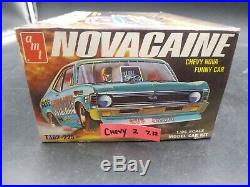 AMT T382 Novacaine Chevy Nova SS Funny Car COMPLETE KIT 1/25 MCM
