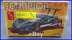 AMT T419 SCORPION MID-ENGINE DRAG COUPE 1/25 Model Car Mountain COMPLETE
