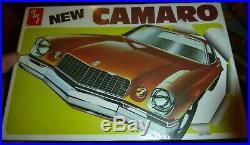 AMT T458 1975 CHEVY CAMARO ANNUAL VINTAGE Model Car Mountain 1/25 FS