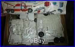 AMT T500 PETERBILT WRECKER TRUCK ORIGINAL 1/25 Model Car Mountain SEALED BAGS