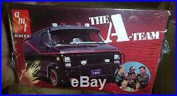 AMT THE A-TEAM GMC Van I PITY THE FOOL! 1/25 Model Car Mountain fs ORIGINAL