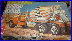 AMT TR81 T559 KENWORTH CHALLENGE TRANSIT CEMENT MIXER 1/25 Model Car Mountain