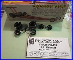 AMT TV Tommy Ivo Rear Engine AA/Fueler AA/FD Dragster T174 1970's Issue