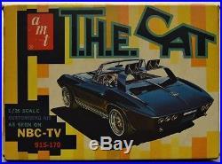 AMT T. H. E. Cat 1967 Corvette NBC TV Show Car Custom Rod Drag or Road Racing