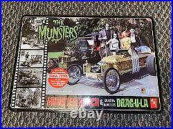 AMT The Munsters Koach Drag-U-LA Sealed Tin 1/25 Scale Model Kit George Barris