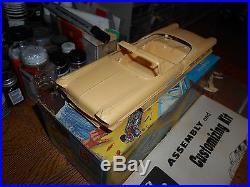 Amt Vintage 1958 Pontiac Bonneville Convertible Kit # 6 Pk - Really Nice