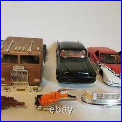 AMT VTG Mixed Lot Model Kits WithParts And Accessories Decals As Is