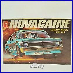 AMT Vintage Chevy Nova Novacaine Funny Hot Stuff 1970s Model T382-225 Ultra Rare