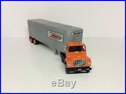 AMT Vintage Truck Model Ford LNT 8000 DOHRN wVan Trailer Custom New