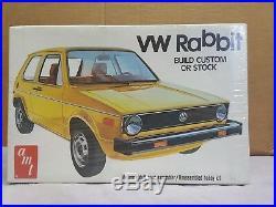 AMT Volkswagen Rabbit Mk I VW Kit # 2001 Stock or Custom Factory Sealed F/S