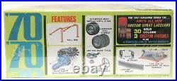 AMT #Y733-200 1970 FLEETSIDE TRUCK BAJA model kit 125 MINT Factory Sealed p1