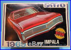 AMT # Y909 1969 Chevrolet 69 Chevy Impala SS 427 sport coupe 1/25 model kit LOOK