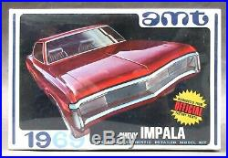 AMT #Y909-200 1969 CHEVY IMPALA SS model kit 125 MINT Factory Sealed p1