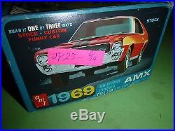 AMT #Y922 AMC 1969 AMERICAN MOTORS AMX FUNNY VINTAGE 1/25 Model Car Mountain
