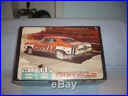 AMT vintage 1968 Chevy ss 396 chevelle chevam