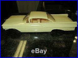 Amt 1959 Pontiac Bonneville Hard Top Original Issue Almost Mint! Complete