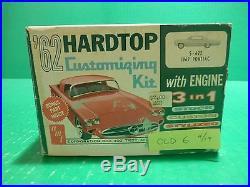 Amt 1962 Pontiac Bonneville Sport Coupe Annual 1/25 Model Car Mountain Vintage
