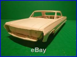 Amt 1963 Chevy Impala Hardtop Ss 1/25 Model Car Mountain #6723
