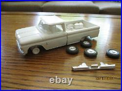 Amt 1963 Chevy Pick Up Annual Built Up / Nice! Model Truck Screwbottom