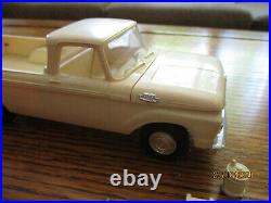 Amt 1963 Ford Pick Up Annual Built Up / Nice! Model Truck Screwbottom