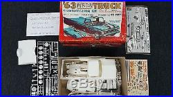 Amt 1963 Ford Pickup Truck With Go-cart
