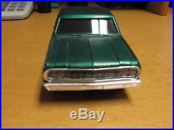 Amt 1964 Chevelle Malibu Ss Ht Model Car Built Vintage Original Screw Bottom