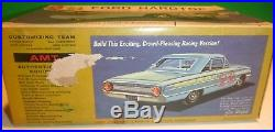 Amt 1964 Ford Galaxie Hardtop 3n1 Vintage 1/25 Model Car Mountain Kit 6124