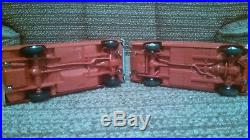 Amt 1964 Mustang And Ford Falcon Promo Car Set Poppy Red
