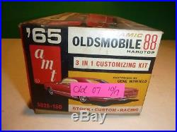 Amt 1965 Olds Oldsmobile Dynamic 88 Hardtop 1/25 Annual Model Car Mountain
