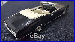 Amt 1967 Impala Convertible Built Original Body New Chassis Black