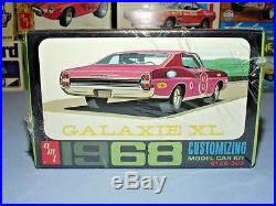 Amt 1968 Ford Galaxie XL Go Getter #6128-200 1/25 68 Mpc Rare Sealed Model Kit