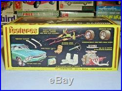 Amt 1969 Chevrolet Ss396 El Camino Annual Y914-200 Mpc Mint Complete Model Kit