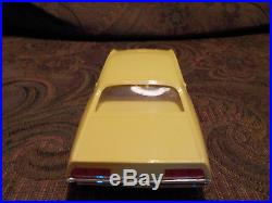 Amt 1970 Ford Torino Cobra Sportsroof Dealer Promotional In New Yellow