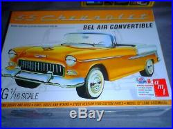 Amt 1/16 Scale American 1955 Chevrolet Bel Air Convertible Kit No 1134