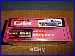 Amt 1/25 68 Ford Fairlane Torino Gt Annual Model Kit Factory Sealed Not Reissued