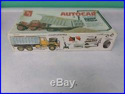 Amt 1/25 Autocar DC 9964b Dump Truck Model Kit Factory Sealed #t817
