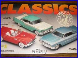 Amt 1/25 Ford Classics 57 Fairlane Thunderbird 63 Galaxie