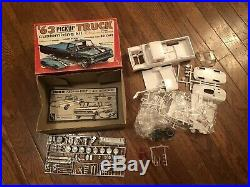 Amt 63 Ford Pickup Truck With Gocart Original