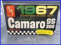 Amt 6627 1967 Chevy Camaro Ss 350 Hardtop Annual 1/25 Model Car Mountain