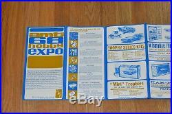 Amt 68 Hobby Expo Calendar Catalog Star Trek Airplane Car Model Kits Ephemera