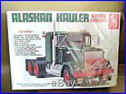 Amt Alaskan Hauler Kenworth Conventional Truck Kit 125 Scale Sealed T511