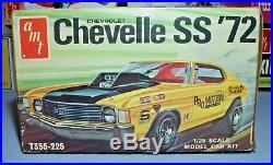 Amt Annual 1972 Chevrolet Chevelle Ss#t355-225 Mpc 1/25 Vintage Mint Unbuilt Kit