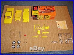 Amt Craftsman 1/25'64 Corvair Monza Spyder Model Kit Unbuilt 4754-100